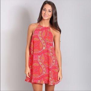NWT Katy halter dress
